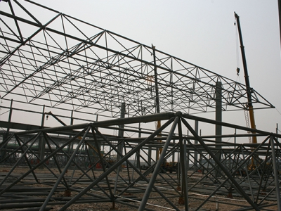 网架结构安装